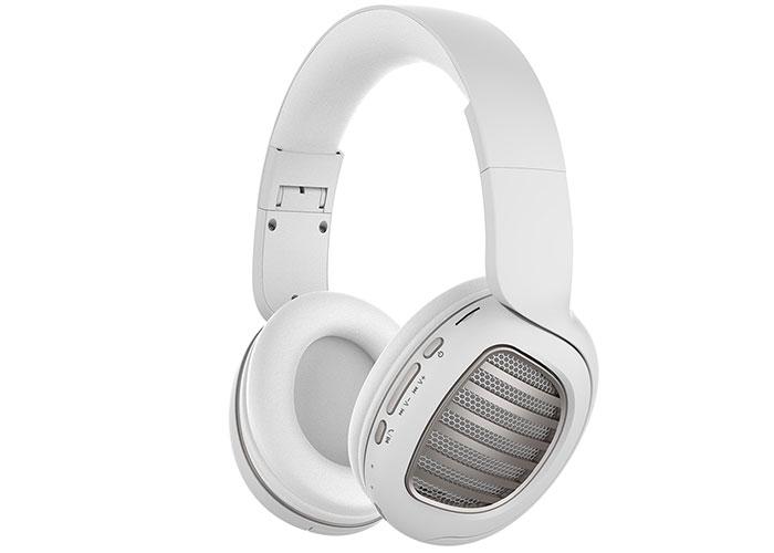 Snopy SN-BT55 DIAMOND TF Kart Özellikli Beyaz Bluetooth Kulaklık