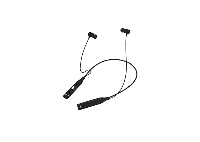 Snopy SN-BTS20 Siyah Boyun Askılı Mıknatıslı Bluetooth Spor Kulak içi Kulaklık  Mikrofon