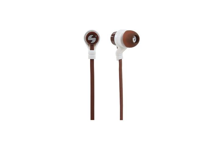 Snopy SN-C12 Mobil Telefon Uyumlu Kulak içi Kahverengi Mikrofonlu Kulaklık