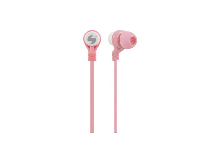 Snopy SN-C12 Mobil Telefon Uyumlu Kulak içi Pembe Mikrofonlu Kulaklık