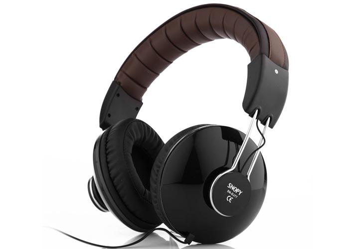 Snopy SN-DJ77 DJ Siyah Mikrofonlu Kulaklık