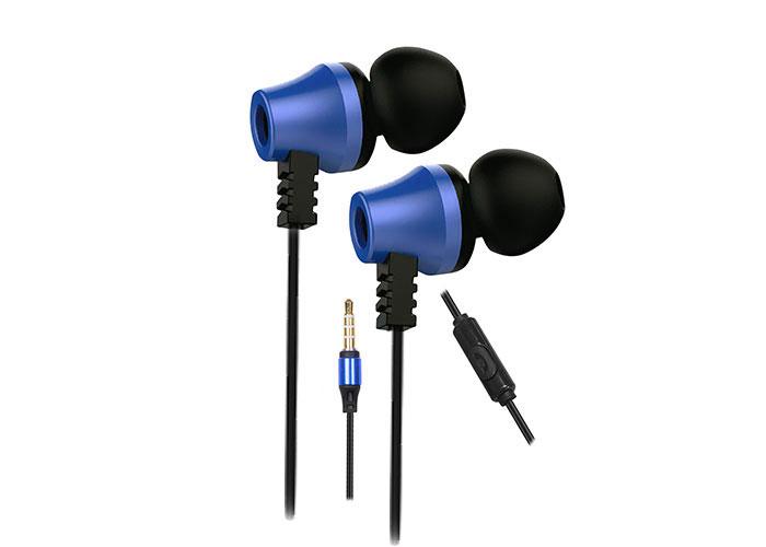 Snopy SN-J02 Thunderbird Mobil Telefon Uyumlu Taşıma Çantalı Kulak içi Siyah/Mavi Mikrofonlu Kulaklık