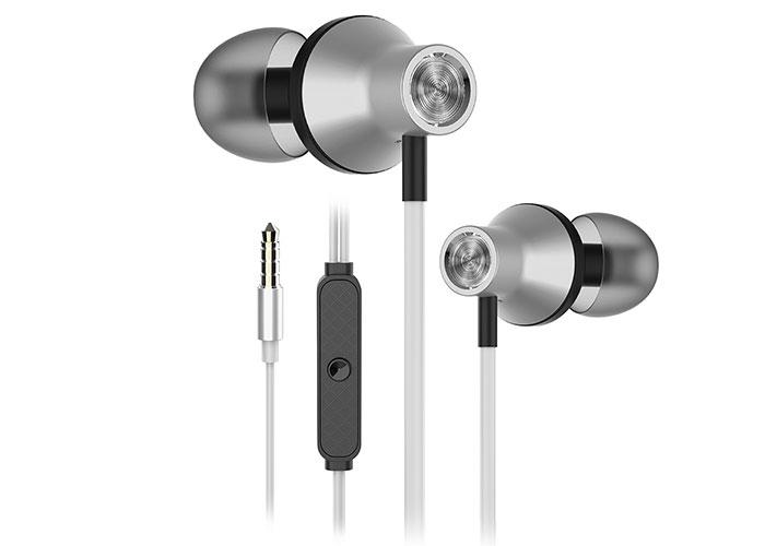 Snopy SN-J19 Mobil Telefon Uyumlu Kulak içi Beyaz Mikrofonlu Kulaklık