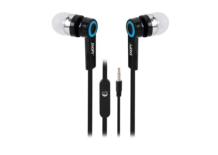 Snopy SN-J5 Mobil Telefon Uyumlu Kulak içi Siyah Mikrofonlu Kulaklık