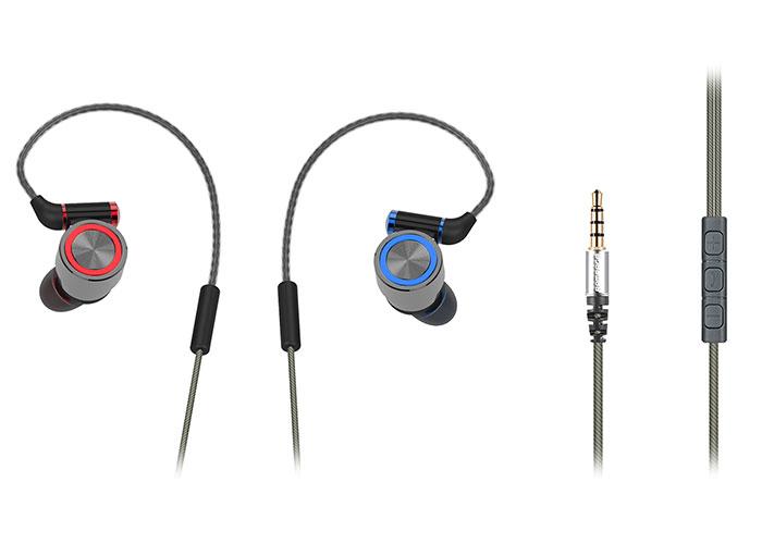 Rampage SN-J8 ELEGANT Mobil Telefon Uyumlu Metal Kulak içi Gri Mikrofonlu Kulaklık