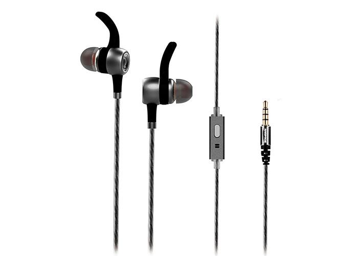 Rampage SN-J9 NATIVE Mobil Telefon Uyumlu Metal Kulak içi Gri Mikrofonlu Kulaklık