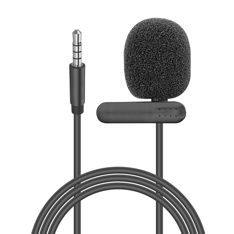Snopy SN-M15 Siyah Akıllı Telefon ve Youtuber Yaka Mikrofonu
