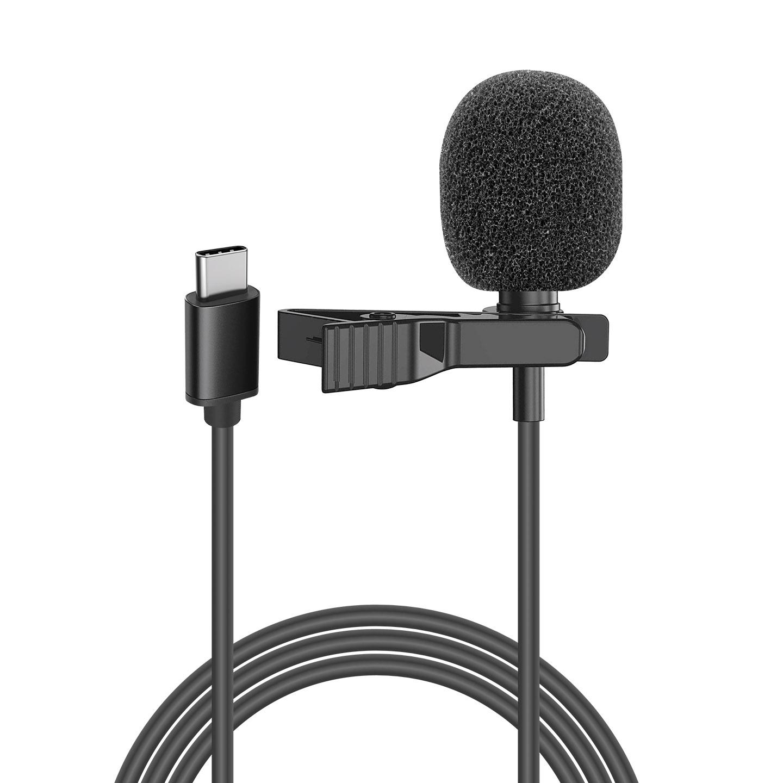 Snopy SN-M40 Siyah Type C Akıllı Telefon Tiktok Yaka Mikrofonu