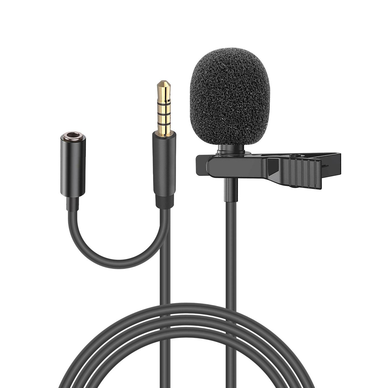 Snopy SN-MTK25 Siyah Tik-Tok Akıllı Telefon ve Youtuber Kulaklık Çıkışlı Yaka Mikrofonu