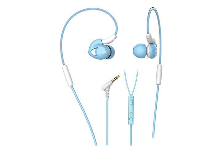 Snopy SN-RS51 Mobil Telefon Uyumlu Kulak içi Kulaklık Mavi Mikrofonlu Kulaklık