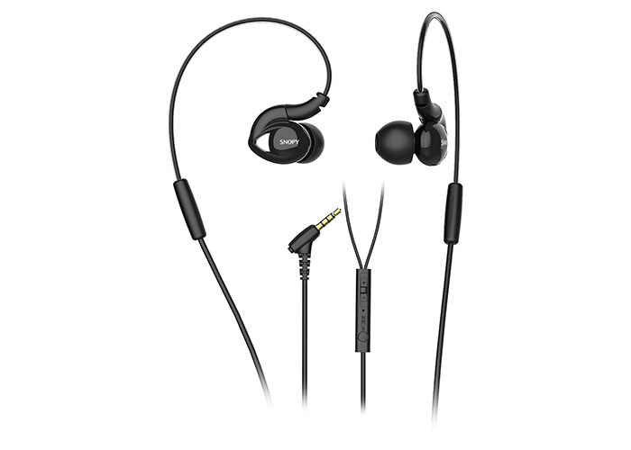 Snopy SN-RS51 Mobil Telefon Uyumlu Kulak içi Kulaklık Siyah Mikrofonlu Kulaklık