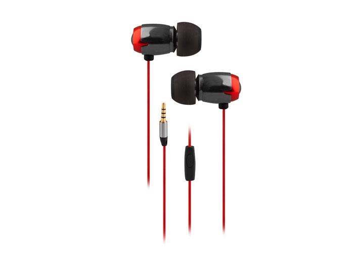 Snopy SN-T1 Mobil Telefon Uyumlu Metal Kulak içi Mikrofonlu Kulaklık