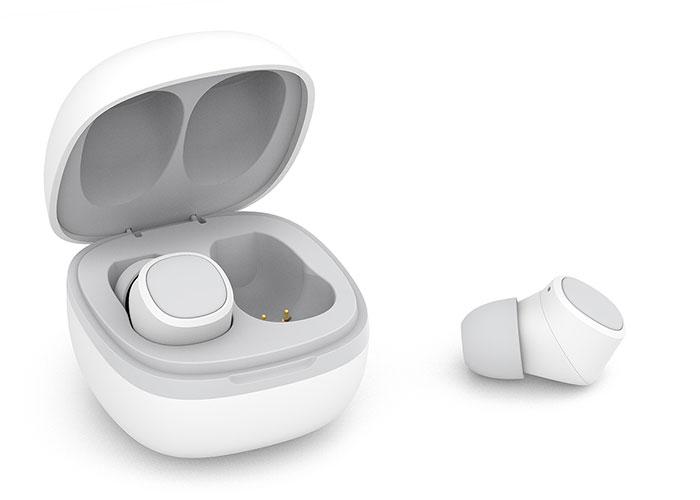 Snopy SN-TWS01 MAGNUS Beyaz Mobil Telefon Uyumlu Bluetooth TWS Mikrofonlu Kulaklık