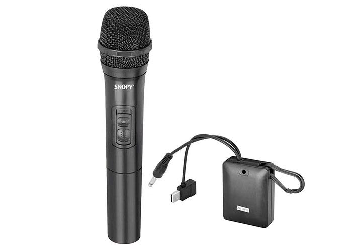 Snopy SN-V33 Siyah VHF Kablosuz El Mikrofon
