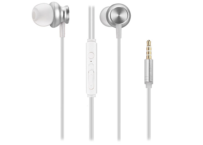 Snopy SN-X01 Mobile Phone Compatible White In-Ear Microphone Headset