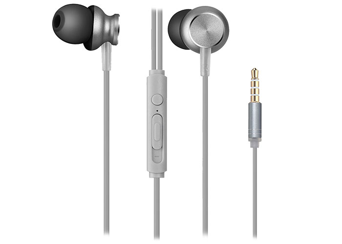 Snopy SN-X01 Mobile Phone Compatible Gray In-Ear Microphone Headset