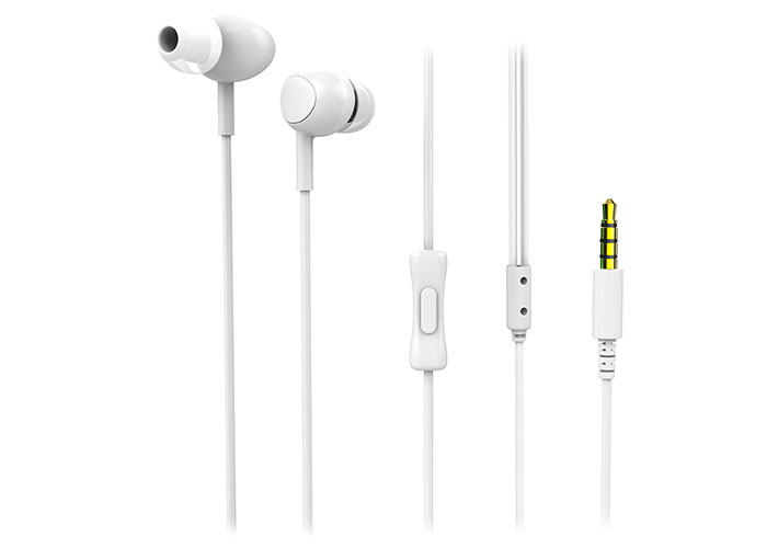 Snopy SN-X05 CORVİNA Mobil Telefon Uyumlu Beyaz Kulak İçi Mikrofonlu Kulaklık