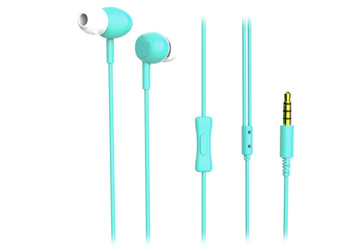 Snopy SN-X05 CORVİNA Mobil Telefon Uyumlu Mavi Kulak İçi Mikrofonlu Kulaklık