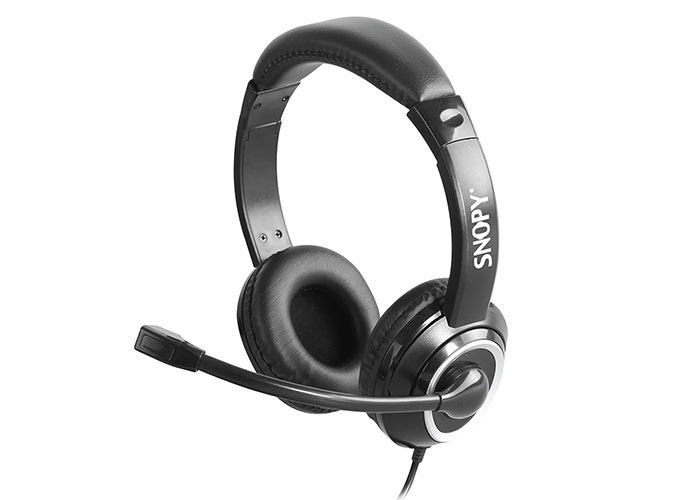 Snopy SN-X4 Siyah Mikrofonlu Kulaklık