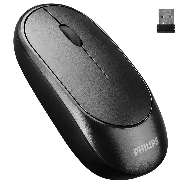 Philips SPK7314 2.4Ghz Siyah 800/1200/1600dpi Optik Kablosuz Mouse