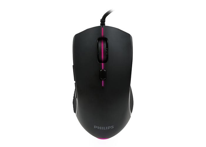 Philips SPK9404 Usb 6 Tuşlu Siyah 800/1000/1600/2400dpi Gaming Oyuncu Mouse