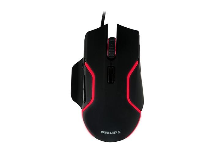Philips SPK9525 Usb Siyah 1200dpi Optik Kablolu Mouse