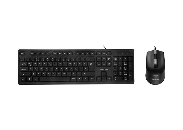 Philips SPT6234 Siyah Usb Q Standart Klavye + Mouse Set