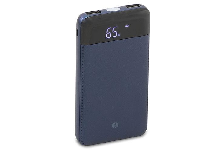 S-Link Swapp SWP-58 10000mAh Powerbank Led Göstergeli Mavi Taşınabilir Pil Şarj Cihazı