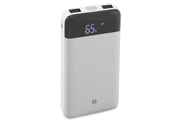 S-Link Swapp SWP-58 10000mAh Powerbank White Portable Powerbank/ Power Pack With Led Indicator