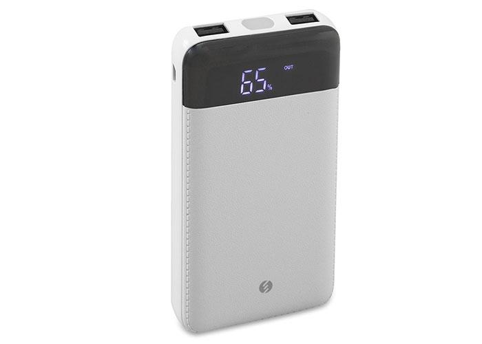 S-Link Swapp SWP-58 10000mAh Powerbank Led Göstergeli Beyaz Taşınabilir Pil Şarj Cihazı