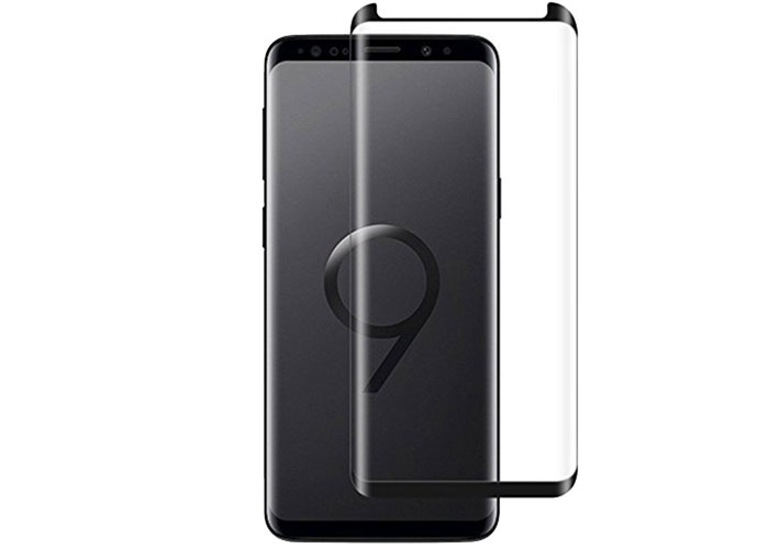 S-link Swapp SWE-S93DB Siyah Samsung Galaxy S9 3D Cam Ekran Koruyucu