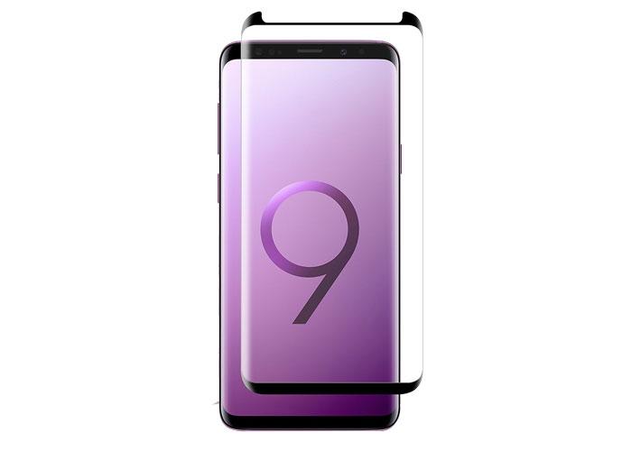 S-link Swapp SWE-S9P3DB Siyah Samsung Galaxy S8 / S9 plus 3D Cam Ekran Koruyucu