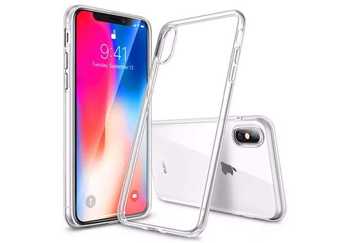 S-link Swapp SWK-513 Şeffaf iPhone X Silikon Koruma Kılıfı