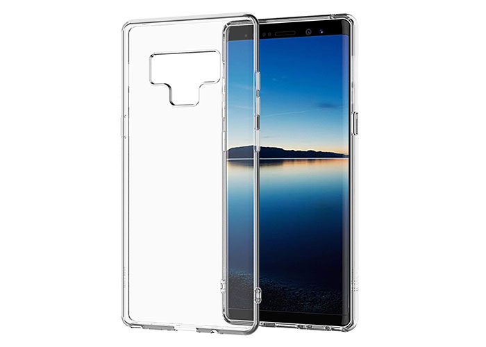 S-link Swapp SWK-517 Şeffaf Samsung Note 8 Silikon Koruma Kılıfı