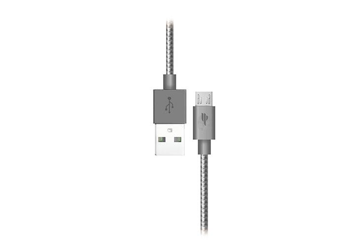 S-link Swapp SW-A5 Micro Usb 1m Grey Data + Şarj Kablosu