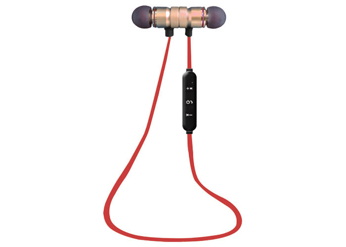 S-link SW-BT14 Mobil Telefon Uyumlu Mıknatıslı Siyah/kırmızı Bluetooth Kulaklık
