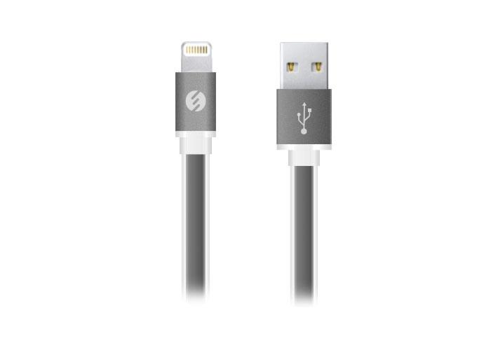 S-link Swapp SW-C603 1m 2A Usb to Iphone 5 Siyah Şarj Kablosu