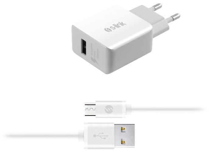 S-link Swapp SW-C700 Micro USB Kablolu Hızlı Adaptör Şarj Cihazı