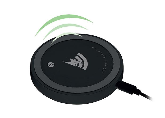 S-Link Swapp SW-CW20 5V1A Siyah Kablosuz Şarj Cihazı