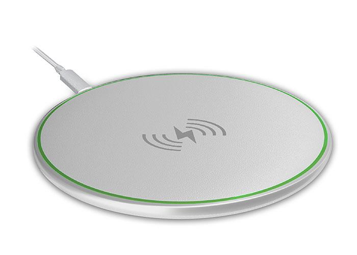 S-Link Swapp SW-CWF80 QI Sertifikalı 10W 5V/2A- 9V/1.1A Beyaz Kablosuz Şarj Cihazı