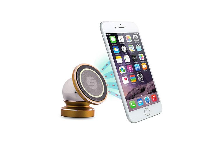 S-link Swapp SW-H10 Universal Ayarlanabilir Gold Manyetik Araç Telefon Tutucu