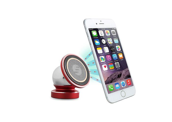 S-link Swapp SW-H10 Universal Ayarlanabilir Kırmızı Manyetik Araç Telefon Tutucu