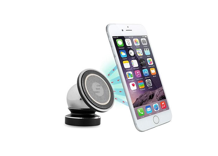 S-link Swapp SW-H10 Universal Ayarlanabilir Siyah Manyetik Araç Telefon Tutucu