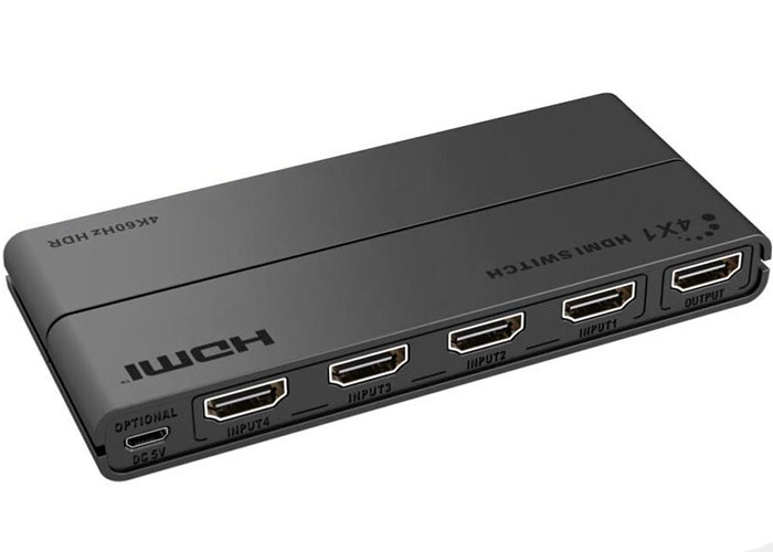 S-Link Swapp SW-HDSW4 4 Port HDMI Switch