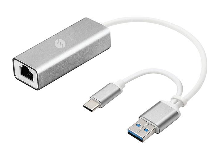 S-link Swapp SW-U330 Type-C  USB3.0 Gigabit Ethernet Adaptör