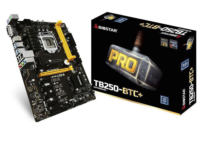 Biostar TB250-BTC+ Intel LGA1151P DDR4 Anakart
