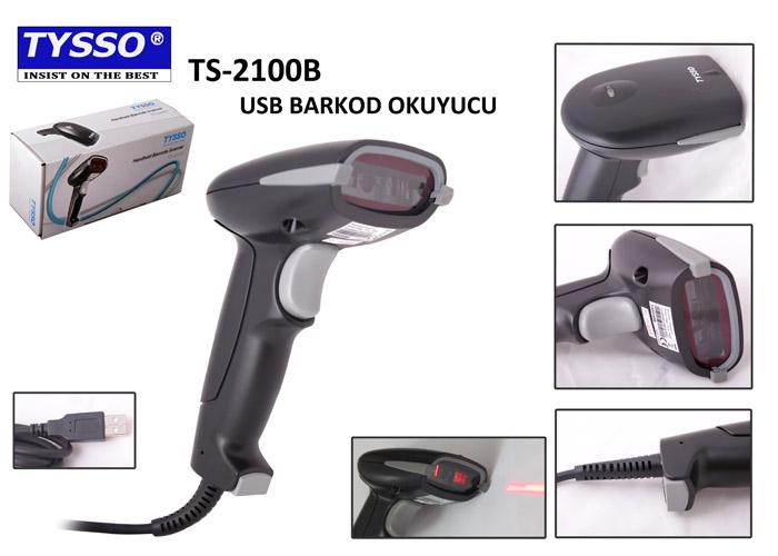 Tysso TS-2100B-USB-B-SEG El Tipi Barkod Okuyucu