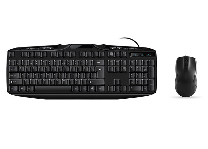 Everest UN-796 Black Usb Q Multimedia Keyboard + Mouse Set