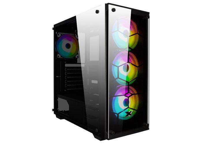 Xigmatek EN41893 VENOM X 650W CE 80Plus X-Power 4*12cm RGB Fan Usb3.0 + 2*Usb2.0 Tempered Glass Oyuncu Kasası