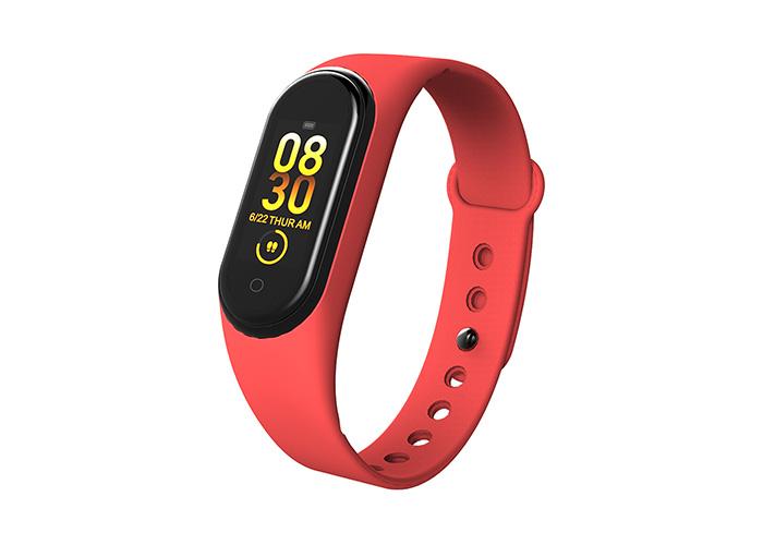 Everest Ever Fit W16 Android/IOS Smart Watch Vücut Isı Göstergeli Kırmızı Akıllı Bileklik  Saat